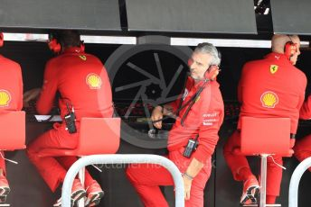 World © Octane Photographic Ltd. Formula 1 - United States GP - Practice 3. Maurizio Arrivabene – Managing Director and Team Principal of Scuderia Ferrari. Circuit of the Americas (COTA), USA. Saturday 20th October 2018.