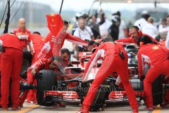 World © Octane Photographic Ltd. Formula 1 – United States GP - Practice 3. Scuderia Ferrari SF71-H – Sebastian Vettel. Circuit of the Americas (COTA), USA. Saturday 20th October 2018.
