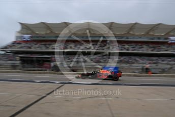 World © Octane Photographic Ltd. Formula 1 – United States GP - Practice 3. Aston Martin Red Bull Racing TAG Heuer RB14 – Daniel Ricciardo. Circuit of the Americas (COTA), USA. Saturday 20th October 2018.