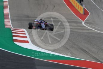 World © Octane Photographic Ltd. Formula 1 – United States GP - Qualifying. Scuderia Toro Rosso STR13 – Brendon Hartley. Circuit of the Americas (COTA), USA. Saturday 20th October 2018.