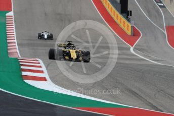 World © Octane Photographic Ltd. Formula 1 – United States GP - Qualifying. Renault Sport F1 Team RS18 – Nico Hulkenberg. Circuit of the Americas (COTA), USA. Saturday 20th October 2018.