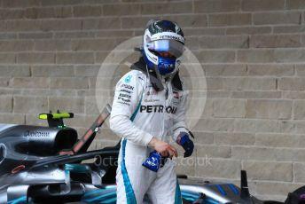 World © Octane Photographic Ltd. Formula 1 – United States GP - Qualifying. Mercedes AMG Petronas Motorsport AMG F1 W09 EQ Power+ - Valtteri Bottas. Circuit of the Americas (COTA), USA. Saturday 20th October 2018.
