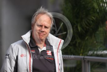World © Octane Photographic Ltd. Formula 1 - United States GP - Paddock. Gene Haas  - Founder and Chairman of Haas F1 Team. Circuit of the Americas (COTA), USA. Sunday 21st October 2018.