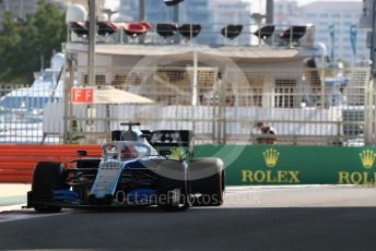 World © Octane Photographic Ltd. Formula 1 – Abu Dhabi GP - Practice 1. ROKiT Williams Racing FW 42 – George Russell. Yas Marina Circuit, Abu Dhabi, UAE. Friday 29th November 2019.