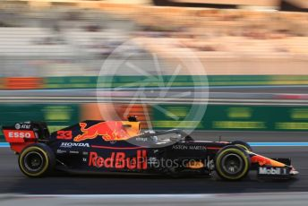 World © Octane Photographic Ltd. Formula 1 – Abu Dhabi GP - Practice 2. Aston Martin Red Bull Racing RB15 – Max Verstappen. Yas Marina Circuit, Abu Dhabi, UAE. Friday 29th November 2019.