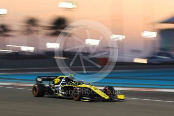 World © Octane Photographic Ltd. Formula 1 – Abu Dhabi GP - Practice 2. Renault Sport F1 Team RS19 – Nico Hulkenberg. Yas Marina Circuit, Abu Dhabi, UAE. Friday 29th November 2019.