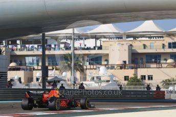 World © Octane Photographic Ltd. Formula 1 – Abu Dhabi GP - Practice 3. Aston Martin Red Bull Racing RB15 – Alexander Albon. Yas Marina Circuit, Abu Dhabi, UAE. Saturday 30th November 2019.