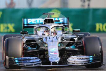 World © Octane Photographic Ltd. Formula 1 – Abu Dhabi GP - Practice 3. Mercedes AMG Petronas Motorsport AMG F1 W10 EQ Power+ - Lewis Hamilton. Yas Marina Circuit, Abu Dhabi, UAE. Saturday 30th November 2019.