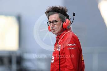 World © Octane Photographic Ltd. Formula 1 - Abu Dhabi GP - Practice 3. Mattia Binotto – Team Principal of Scuderia Ferrari. Yas Marina Circuit, Abu Dhabi, UAE. Saturday 30th November 2019.