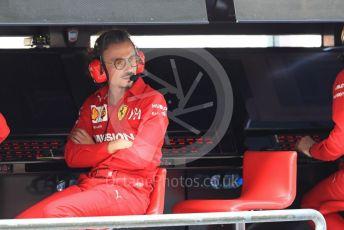 World © Octane Photographic Ltd. Formula 1 - Abu Dhabi GP - Practice 3. Laurent Mekies – Sporting Director of Scuderia Ferrari. Yas Marina Circuit, Abu Dhabi, UAE. Saturday 30th November 2019.