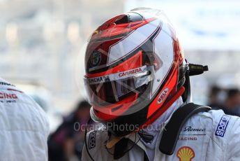 World © Octane Photographic Ltd. Formula 1 – Abu Dhabi GP - Practice 3. Alfa Romeo Racing C38 – Kimi Raikkonen. Yas Marina Circuit, Abu Dhabi, UAE. Saturday 30th November 2019.