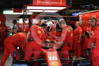 World © Octane Photographic Ltd. Formula 1 – Abu Dhabi GP - Practice 3. Scuderia Ferrari SF90 – Charles Leclerc. Yas Marina Circuit, Abu Dhabi, UAE. Saturday 30th November 2019.