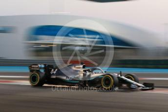 World © Octane Photographic Ltd. Formula 1 – Abu Dhabi GP - Qualifying. Mercedes AMG Petronas Motorsport AMG F1 W10 EQ Power+ - Lewis Hamilton. Yas Marina Circuit, Abu Dhabi, UAE. Saturday 30th November 2019.