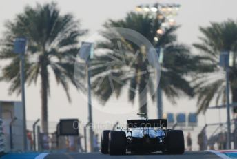 World © Octane Photographic Ltd. Formula 1 – Abu Dhabi GP - Race. Mercedes AMG Petronas Motorsport AMG F1 W10 EQ Power+ - Valtteri Bottas. Yas Marina Circuit, Abu Dhabi, UAE. Sunday 1st December 2019.