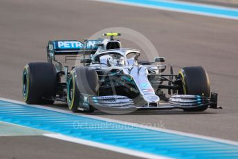 World © Octane Photographic Ltd. Formula 1 – Abu Dhabi GP - Race. Mercedes AMG Petronas Motorsport AMG F1 W10 EQ Power+ - Valtteri Bottas. Yas Marina Circuit, Abu Dhabi, UAE. Sunday 1st December 2019.