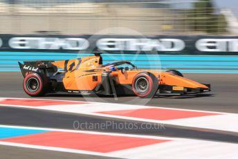 World © Octane Photographic Ltd. FIA Formula 2 (F2) – Abu Dhabi GP - Race 1. Campos Racing - Marino Sato. Yas Marina Circuit, Abu Dhabi, UAE. Friday 29th November 2019.
