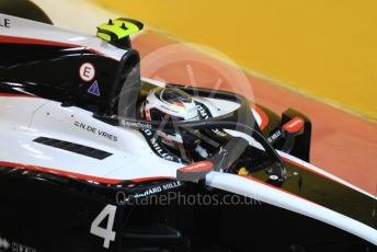 World © Octane Photographic Ltd. FIA Formula 2 (F2) – Abu Dhabi GP - Qualifying. ART Grand Prix - Nyck de Vries. Yas Marina Circuit, Abu Dhabi, UAE. Friday 29th November 2019.