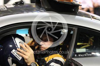 World © Octane Photographic Ltd. FIA Formula 2 (F2) – Abu Dhabi GP - Race 1. Bernd Maylander - Safety Car driver. Yas Marina Circuit, Abu Dhabi, UAE. Saturday 30th November 2019