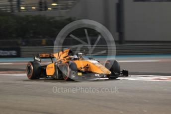 World © Octane Photographic Ltd. FIA Formula 2 (F2) – Abu Dhabi GP - Race 1. Campos Racing - Marino Sato. Yas Marina Circuit, Abu Dhabi, UAE. Saturday 30th November 2019.