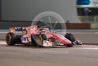 World © Octane Photographic Ltd. FIA Formula 2 (F2) – Abu Dhabi GP - Race 1. BWT Arden - Tatiana Calderon. Yas Marina Circuit, Abu Dhabi, UAE. Saturday 30th November 2019.