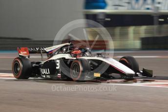 World © Octane Photographic Ltd. FIA Formula 2 (F2) – Abu Dhabi GP - Race 1. ART Grand Prix - Nikita Mazepin. Yas Marina Circuit, Abu Dhabi, UAE. Saturday 30th November 2019.