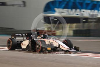 World © Octane Photographic Ltd. FIA Formula 2 (F2) – Abu Dhabi GP - Race 1. Sauber Junior Team - Callum Ilott. Yas Marina Circuit, Abu Dhabi, UAE. Saturday 30th November 2019.