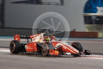 World © Octane Photographic Ltd. FIA Formula 2 (F2) – Abu Dhabi GP - Race 1. Prema Racing – Mick Schumacher. Yas Marina Circuit, Abu Dhabi, UAE. Saturday 30th November 2019.