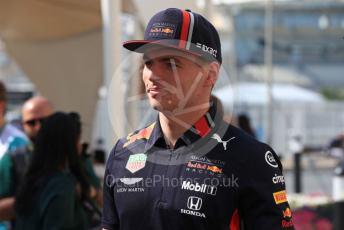 World © Octane Photographic Ltd. Formula 1 – Abu Dhabi GP - Paddock. Aston Martin Red Bull Racing RB15 – Max Verstappen. Yas Marina Circuit, Abu Dhabi, UAE. Friday 29th November 2019.