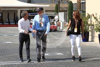 World © Octane Photographic Ltd. Formula 1 - Abu Dhabi GP - Paddock. Alain Prost – Non-Executive Director Renault Sport Formula 1 Team. Yas Marina Circuit, Abu Dhabi, UAE. Friday 29th November 2019.