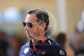 World © Octane Photographic Ltd. Formula 1 - Abu Dhabi GP - Paddock. Christian Horner - Team Principal of Red Bull Racing. Yas Marina Circuit, Abu Dhabi, UAE. Saturday 30th November 2019.