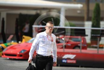 World © Octane Photographic Ltd. Formula 1 - Abu Dhabi GP - Paddock. Andy Cowell - Managing Director of Mercedes AMG High Performance Powertrains. Yas Marina Circuit, Abu Dhabi, UAE. Sunday 1st December 2019.