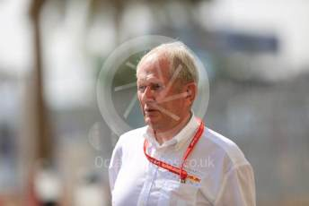 World © Octane Photographic Ltd. Formula 1 - Abu Dhabi GP - Paddock. Helmut Marko - advisor to the Red Bull GmbH Formula One Teams and head of Red Bull's driver development program. Yas Marina Circuit, Abu Dhabi, UAE. Sunday 1st December 2019.