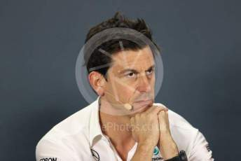 World © Octane Photographic Ltd. Formula 1 - Abu Dhabi GP – Friday FIA Team Press Conference. Toto Wolff - Executive Director & Head of Mercedes - Benz Motorsport. Yas Marina Circuit, Abu Dhabi, UAE. Friday 29th November 2019.