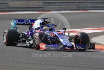 World © Octane Photographic Ltd. Formula 1 – Abu Dhabi Pirelli Tyre Test. Scuderia Toro Rosso STR14 – Sean Galeal. Yas Marina Circuit, Abu Dhabi, UAE. Tuesday 3rd December 2019.