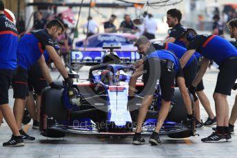 World © Octane Photographic Ltd. Formula 1 – Abu Dhabi Pirelli Tyre Test. Scuderia Toro Rosso STR14 – Daniil Kvyat. Yas Marina Circuit, Abu Dhabi, UAE. Tuesday 3rd December 2019.