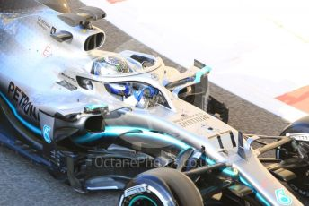 World © Octane Photographic Ltd. Formula 1 – Abu Dhabi Pirelli Tyre Test. Mercedes AMG Petronas Motorsport AMG F1 W10 EQ Power+ - Valtteri Bottas. Yas Marina Circuit, Abu Dhabi, UAE. Tuesday 3rd December 2019.