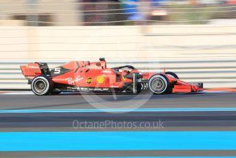 World © Octane Photographic Ltd. Formula 1 – Abu Dhabi Pirelli Tyre Test. Scuderia Ferrari SF90 – Sebastian Vettel. Yas Marina Circuit, Abu Dhabi, UAE. Tuesday 3rd December 2019.