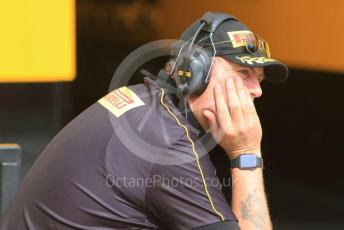 World © Octane Photographic Ltd. Formula 1 – Abu Dhabi Pirelli Tyre Test. Pirelli personnel. Yas Marina Circuit, Abu Dhabi, UAE. Tuesday 3rd December 2019.