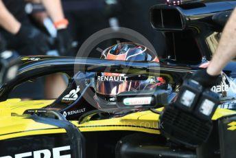 World © Octane Photographic Ltd. Formula 1 – Abu Dhabi Pirelli Tyre Test. Renault Sport F1 Team RS19 – Esteban Ocon. Yas Marina Circuit, Abu Dhabi, UAE. Tuesday 3rd December 2019.