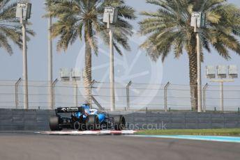 World © Octane Photographic Ltd. Formula 1 – Abu Dhabi Pirelli Tyre Test. ROKiT Williams Racing FW 42 – George Russell. Yas Marina Circuit, Abu Dhabi, UAE. Tuesday 3rd December 2019.