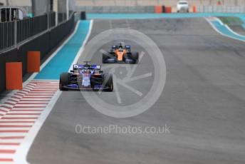 World © Octane Photographic Ltd. Formula 1 – Abu Dhabi Pirelli Tyre Test. Scuderia Toro Rosso STR14 – Sean Gelael. Yas Marina Circuit, Abu Dhabi, UAE. Tuesday 3rd December 2019