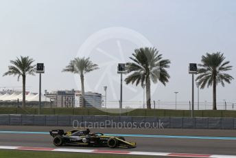 World © Octane Photographic Ltd. Formula 1 – Abu Dhabi Pirelli Tyre Test. Haas F1 Team VF19 – Romain Grosjean. Yas Marina Circuit, Abu Dhabi, UAE. Tuesday 3rd December 2019.