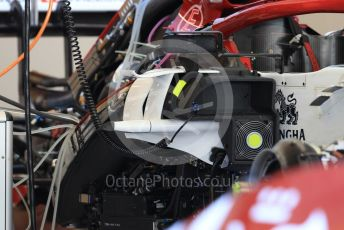 World © Octane Photographic Ltd. Formula 1 – Abu Dhabi GP - Setup. Alfa Romeo Racing C38. Yas Marina Circuit, Abu Dhabi, UAE. Thursday 28th November 2019.