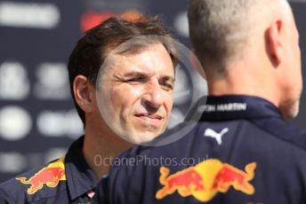 World © Octane Photographic Ltd. Formula 1 - Abu Dhabi GP - Paddock. Pierre Wache – Technical Director at Red Bull Racing. Yas Marina Circuit, Abu Dhabi, UAE. Thursday 28th November 2019.