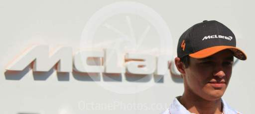 World © Octane Photographic Ltd. Formula 1 – Abu Dhabi GP - Paddock. McLaren MCL34 – Lando Norris. Yas Marina Circuit, Abu Dhabi, UAE. Thursday 28th November 2019.