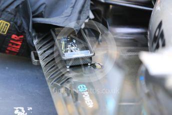 World © Octane Photographic Ltd. Formula 1 – Abu Dhabi GP - Scrutineering. Mercedes AMG Petronas Motorsport AMG F1 W10 EQ Power+ - Lewis Hamilton. Yas Marina Circuit, Abu Dhabi, UAE. Thursday 28th November 2019.