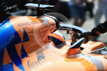 World © Octane Photographic Ltd. Formula 1 – Australian GP Grid. McLaren MCL34 – Carlos Sainz. Melbourne, Australia. Sunday 17th March 2019.