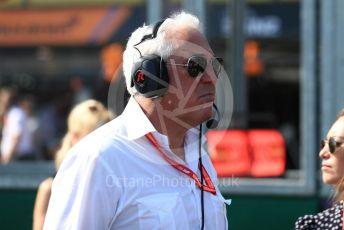 World © Octane Photographic Ltd. Formula 1 - Australian GP - Grid. Lance Stroll father Lawrence Stroll - investor, part-owner of SportPesa Racing Point. Albert Park, Melbourne, Australia. Sunday 17th March 2019