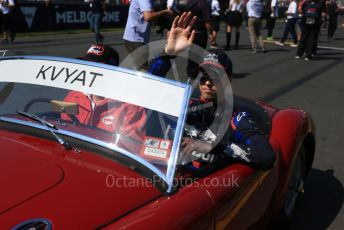 World © Octane Photographic Ltd. Formula 1 – Australian GP Drivers' parade. Scuderia Toro Rosso STR14 – Daniil Kvyat. Melbourne, Australia. Sunday 17th March 2019.