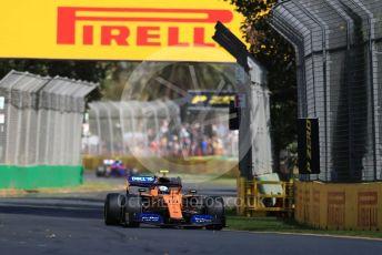 World © Octane Photographic Ltd. Formula 1 – Australian GP Practice 1. McLaren MCL34 – Lando Norris. Friday 15th Melbourne, Australia. Friday 15th March 2019.